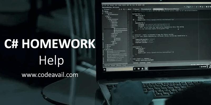 C# Homework Help