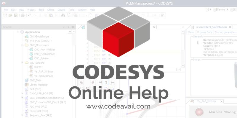 Codesys-Online-Help